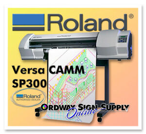 Refurbished Roland Versacamm Sp 300v 30 Printer cutter