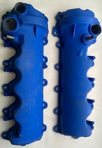 3v 4 6 Mustang And F 150 5 4 Ford Racing Powder Coated Blue Valve Covers