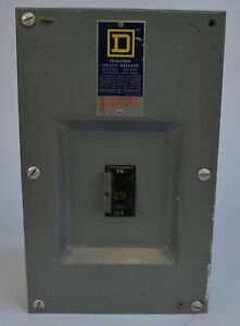 Square D 70a 240v Circuit Breaker Box Fa 100 s W Fal 32070 Circuit Breaker