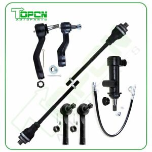 Set 7 Tie Rod End Pitman Arm Idler Arm Steering For 2001 2006 Chevy Tahoe