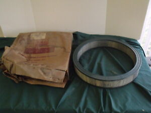 Nos 1957 Ford Dual Quad Fomoco Script Air Cleaner Filter E Code Oem Fomoco 57