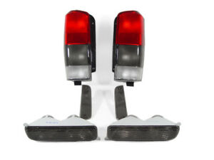 Smoke Tail Lights Corner Lights Bumper Lights For 1997 2001 Jeep Cherokee Xj