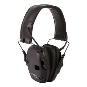 Howard Leight R 02525 Black Impact Sport Bolt Amplified Electronic Earmuffs