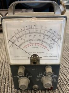 Heathkit V 7 Vacuum Tube Voltmeter Benton Harbor Michigan b2