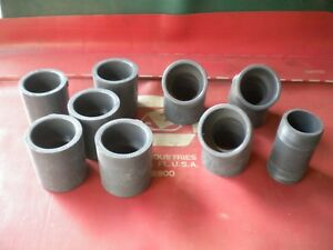 Lot Of 10 Gray 2 Electrical Plumbing Pvc Underground Pipe Connectors
