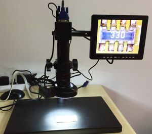 Electron Digital Microscope Led Industrial Camera Magnifier Inspection Video Mi