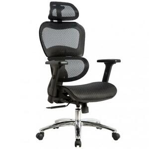 Office Chair Desk Computer Ergonomic Swivel Executive Rolling Home Tall Chair