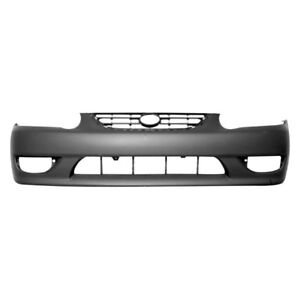 For Toyota Corolla 2001 2002 Replace To1000217pp Front Bumper Cover