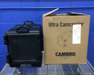 Cambro Upc300 Food Pan Carrier Black Front Loading Insulated Catering Box