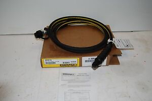 Enerpac Hc9210 Hydraulic Hose 10 Ft 10 000 Psi W ch604 Coupler 1 4 Id New