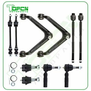 10pc Complete Front Suspension Kit Fits Dodge Ram 1500 4x4 4wd 2002 2005 Set
