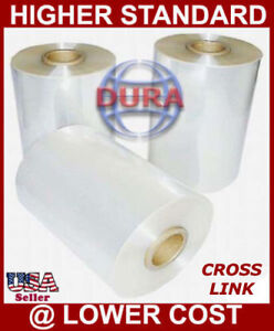 8 3500 Ft 75 Ga Cf Cross Link High Performance Polyolefin Heat Shrink Wrap Film