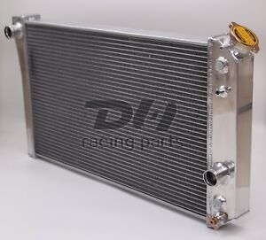 3 Rows Aluminum Radiator Fit 84 90 Corvette Small Block V8 S10 V8 Conversion