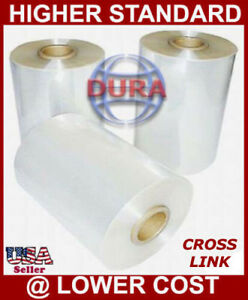 12 3500 Ft 75 Ga Cf Cross Link High Performance Polyolefin Heat Shrink Film