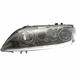 Headlight For 2003 2004 2005 Mazda 6 Left Halogen With Fog Lamps