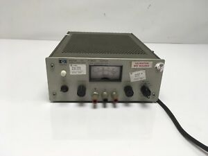 Hp Agilent 6200b Dc Power Supply 0 40v 0 0 75a Or 0 20v 0 1 5a Load Tested