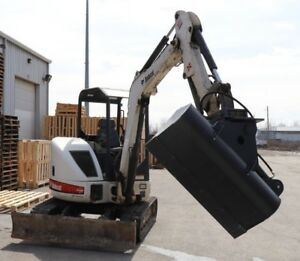 50 Hydraulic Ditching Grading Bucket For Bobcat Mini Excavators