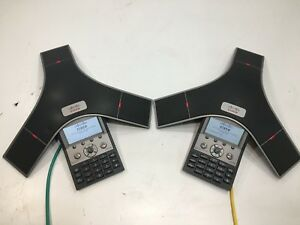 Lot Of 2 Cisco Cp 7937g Unified Ip Conference Station Voip Phone