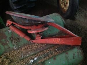 Used Seat And Seat Support Assembly From Allis Chalmers Wc Tractor
