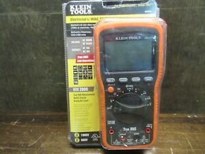 Brand New Klein Mm2000 True Rms Auto ranging Digital Multimeter Free Shipping