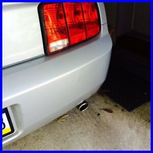 2005 2009 Mustang 4 0 V6 New Stainless Steel Tail Pipe Tip Nice