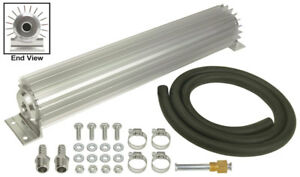 Derale 17 1 4 X 2 3 16 X 3 1 4 In Automatic Trans Fluid Cooler Kit P n 13254