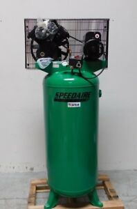 Speedaire Electric Vertical Stationary Air Compressor 1 Phase 60 Gal