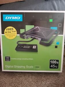 Dymo Digital Shipping Scale S100 Capacity 100 Lbs Nib Brand New Sealed