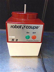 Robot Coupe R2 Commercial Food Processor Base Only Works Good S3462