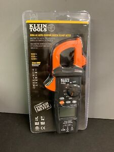 Klein Tools 600 Amp Ac True Rms Auto ranging Digital Clamp Meter cl600