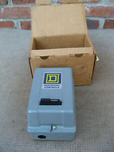 Square d 8536 Type Ag 2 Ac Magnetic Starter In Nema 1 Enclosure 3 Type A T u 725