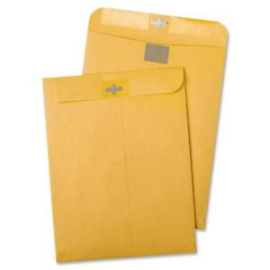 100 Business Envelopes 6 x9 Kraft Clasp Manila Catalog Yellow Brown Flap New