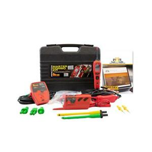 Power Probe Iv Master Combo Kit Circuit Tester Volt Amp With Truck Fault Codes