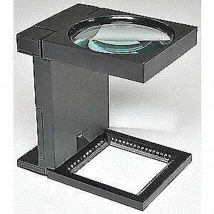 Hands free Fold up Magnifier lighted 2 5x 3430