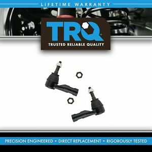 Front Steering Outer Tie Rod End Pair Lh Rh Sides For Ram 1500 Truck New