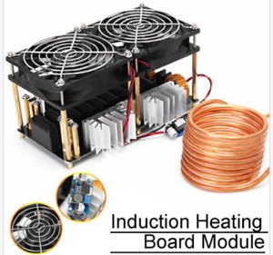 1800w Zvs Induction Heating Pcb Board Module Flyback Driver Heater Copper Tube