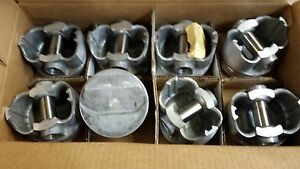 389 Pontiac Pistons Forged 12 To 1 Trw L2251af Standard Bore 59 66 Set Of 8