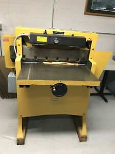 Used Great Condition Challenge Champion Mc Size 305 Commercial Paper Cutter