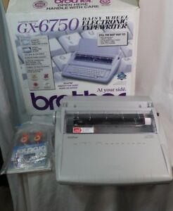Brother G 7650 Daisy Wheel Electric Typewriter With Auto Correct