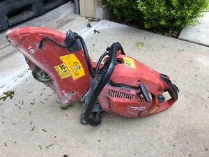 Used Hilti Hand Held Gas Saw Dsh 900 16 Inch Concrete Caw