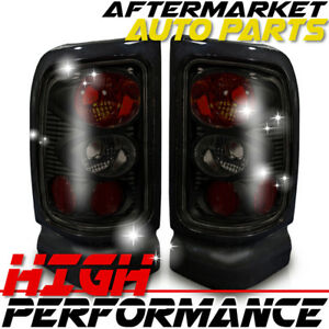 For 2000 Dodge Ram 2500 Van Altezza Tail Light Black Smoke