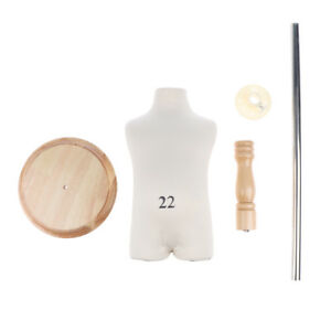 38cm Dress Form Mannequin Torso Dressmaker Display Stand For Kids Cloth