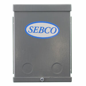 Sebco Industries 1113 Low Voltage Lighting Transformer 120v in 24vac Out 250w