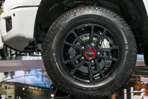 Toyota Tundra 2012 2019 Trd 18 Bbs Forged Trd Pro Black Rims Set Oem New