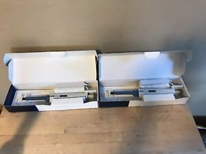 Lot Of 2 Sartorius Biohit Proline Variable Pipette 100 1000ul