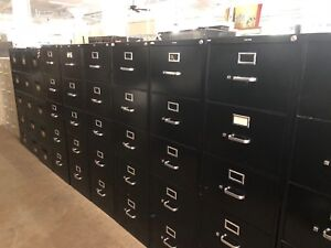 5 Drawer Legal Size File Cabinet By Hon Office Furniture W lock key
