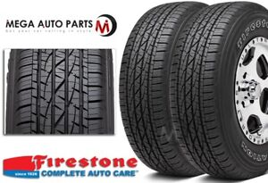 2 X New Firestone Destination Le 2 P245 65r17 105t Owl All Season Tires