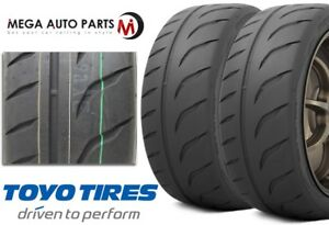 2 X New Toyo Proxes R888r 205 40zr17 80w Tires