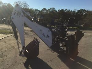 Nice Bobcat 811 Backhoe Attachment Skid Steer Quick Attach