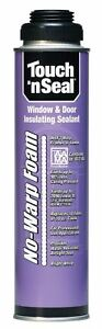 Touch N Seal No Warp Foam Window Door Sealant 1 Case 12 20oz Cans 4004529712 12